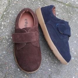 Zapato Velcro Serraje niños