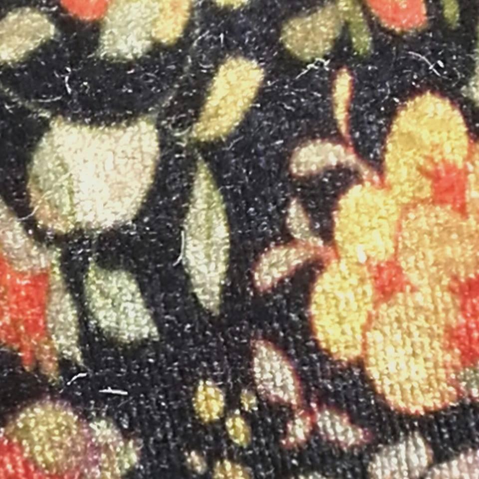 Terciopelo flores